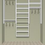 "72"" closet cost  approx.  $399 installed cost for KIT  approx.   $320. + tax"