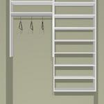 "60"" Closet Cost approx. $349. installed Cost as KIT  approx. $279 +tax"